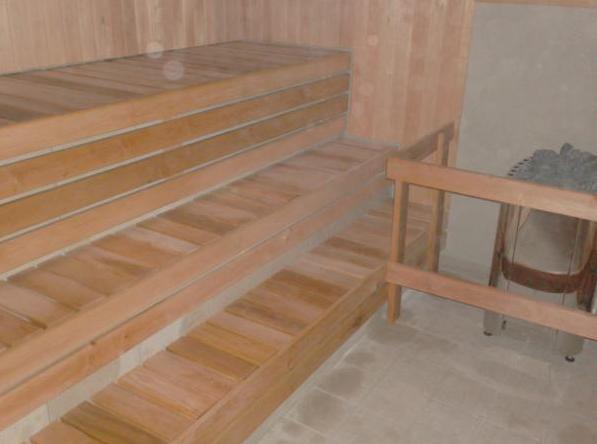 Loksa Gümnaasiumi ujula saunad, 2 tk
