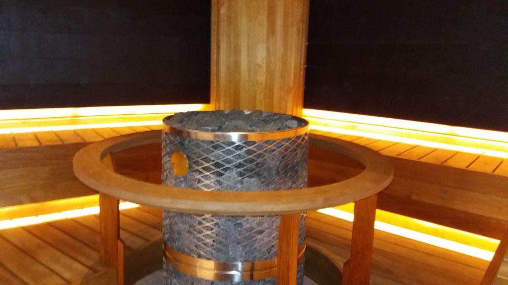 Hilton hotelli SPA saun